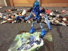 CN38 Lego 8533 Bionicle Mata Nui Toa Gali complet Notice instruction de 2004