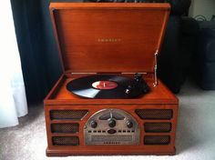 Crosley 5 in 1 Stereo System Turntable Record Player | eBay