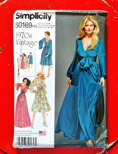 2015 Simplicity 1970s Vintage Pattern by PaperWardrobesEtc on Etsy