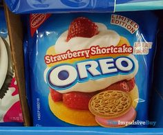 SPOTTED ON SHELVES: Limited Edition Strawberry Shortcake Oreo Cookies