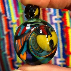 AUCTION!  I'm bringin' the ruckus because it's Wu-Tang Wednesday! Bid on this pendant one post back. Protect ya neck! #AAAglass #wutangwednesday #wutang #tigerstyle #protectyaneck #pendantsofig #glassofig #higherfashion #highfashion #spiral