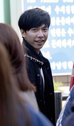 lee Seung gi - I love unique smiles. and his is pretty amazing