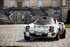 Lancia Stratos. El classico...