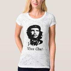 Viva Che! Che Guevara stencil art design T-Shirt