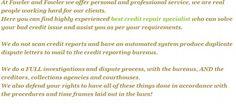 Best  #Credit Repair Specialist at FowlerandFowler. http://fowlerandfowlercredit.weebly.com/blog/best-credit-repair-specialist-at-fowlerandfowler