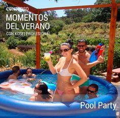 Ganador del Concurso MOMENTOS DEL VERANO con Kosei Profesional: Titulo:  Pool Party