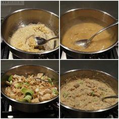 Hoe maak je pasteitjes met zalmragout?