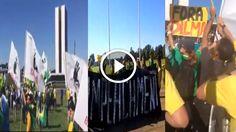 Folha Política: Veja vídeos da manifestação pelo impeachment de Dilma em frente ao Congresso Nacional