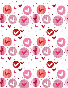 valentine's day candy heart graph printable