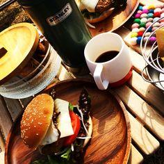 外café