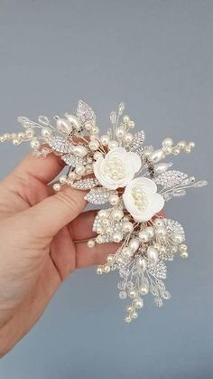 d54efc92c2 Bridal Hair Comb   Ivory Pearl Bridal hair comb Buy from e-shop