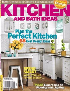 Kitchen and Bath Ideas magazine Best design ideas Flooring and lighting Storage