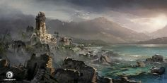 Assassin's Creed IV: Black Flag - Royal Port by Donglu Yu | Illustration | 2D | CGSociety