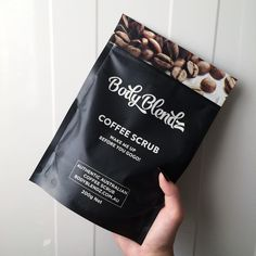 ylwdmnds: Thank you #bodyblendz. #coffeescrub #skin #smooth