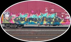 More recent graffiti taken at Slaton depot.