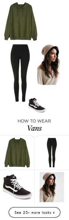 """""""Untitled #570"""" by sable-leblanc on Polyvore featuring Topshop and Vans"""