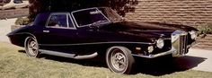 The last car Elvis drove before his death – 1973 Stutz Blackhawk. Class.