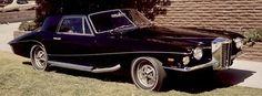 The last car Elvis drove before his death – 1973 Stutz Blackhawk. Class.