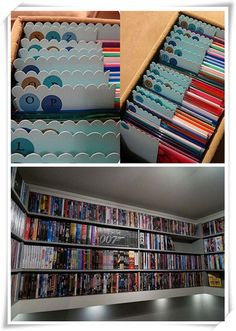 Have Too Many DVDs? Try These Clever DVD Storage Ideas for Solutions  DVD Storage Ideas
