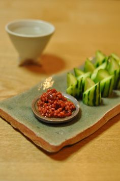 Morokyu (Japanese Cucumber with Moromi Miso Paste on the Side), Popular Izakaya Food|モロきゅう