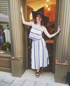 hat, skirt, top, shoes/F&F, jewelry/ Trollbeads