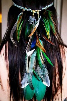 Feathers layers