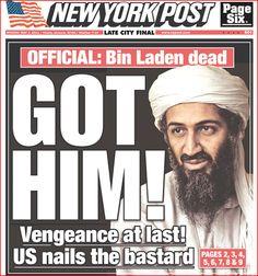 osama bin laden death headline | ... Videos: Newspaper Headlines: Osama Bin Laden Death on the Front Pages