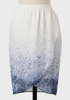 Ocean Tide Speckled Pencil Skirt | Ruche