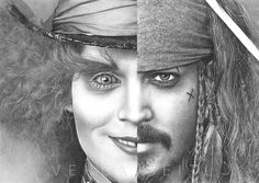 used: + other stuff The Hatter / Jack Sparrow Two faces of Johnny Depp Johnny Depp Characters, Johnny Depp Fans, Arte Disney, Disney Art, Jack Sparrow Dibujo, Mad Hatter Drawing, Jonny Deep, Captain Jack Sparrow, Two Faces
