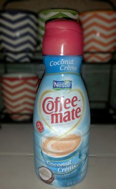 Coconut Cream creamer from  Coffee Mate