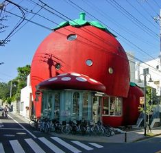 Unusual Architecture Around the World (10 Stunning Pics) - Part 1,Strawberry House.
