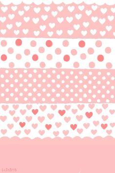 Light pink stripe desgin