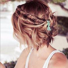 Freche Kurzhaarfrisuren sehen nicht nur verdammt cool und lässig aus, sie sind auch ganz einfach wandelbar! Wir zeigen euch die 4 schönsten Frisuren für kurze Haare...