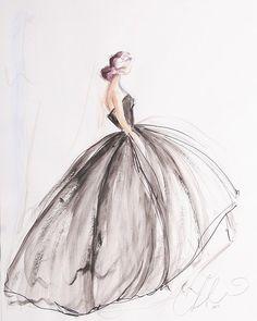 Fashion zeichnung