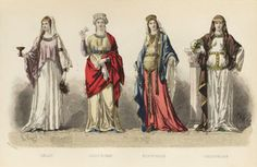 "Early medieval fashion in France (Gallic, Gallo-Roman, Merovingian, Carolingian). Augustin Challamel, ""The History of Fashion in France"" (1882)"