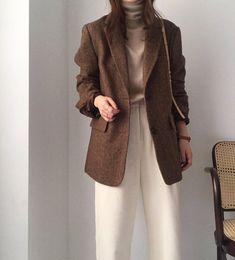 Korean Outfits, Mode Outfits, Fashion Outfits, Womens Fashion, Korean Fashion Trends, Korea Fashion, Korean Fashion Fall, Casual Fall Outfits, Classy Outfits