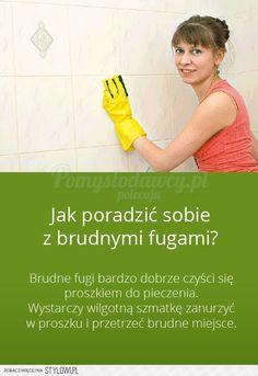 WYCZYŚĆ FUGI BEZ WYSIŁKU - PRZYDATNY TRIK W KAŻDYM DOMU… na Stylowi.pl