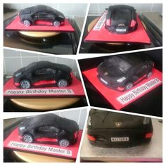 Lamborgini Car Cake Baby Car Seats, Cakes, Children, Kids, Cake, Pastries, Torte, Animal Print Cakes, Child
