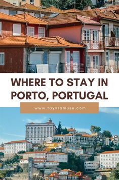 Trying to decide on which neighborhood to stay in in Porto Look no further! Check out our neighborhood guide to - favorite hotels in Porto, where to eat in Baixa Chiado and more. Beautiful Hotels, Beautiful Places To Visit, Cool Places To Visit, Portugal Destinations, Travel Destinations, Travel Tips, Visit Portugal, Portugal Travel, Algarve