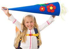German Schultüten!! I got this on my first day of kindergarten! :)