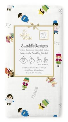SwaddleDesigns Disney It's a Small World Hello Marquisette Swaddling Blanket, Children of the World Sterling by SwaddleDesigns, http://www.amazon.com/dp/B008BQUX3Y/ref=cm_sw_r_pi_dp_Jr06qb0HHTPCM