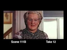 Mrs. Doubtfire outtakes - YouTube