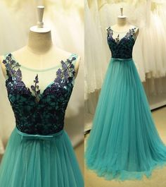 A Line Prom Dress Evening Party Gown pst1322