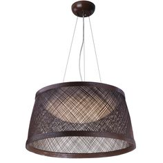 Large LED Fiber Weave Indoor/Outdoor Pendant