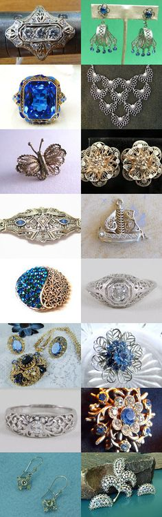 VJT Filigree Collection by Sally Jones on Etsy--Pinned with TreasuryPin.com