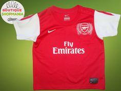 ARSENAL HOME 2011-2012 (Boys 18-24 MOS 85-90) NIKE FOOTBALL SHIRT Jersey  Camisa  Nike  Arsenal a57a87f325e6b