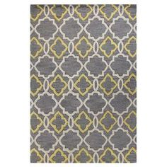 love this pattern, grey and yellow