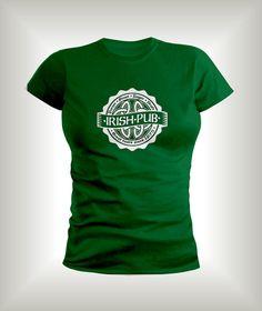 Irish Pub T-shirt,Luck of the Irish,Irish Green shirts,St. Patricks Day shirts,Beer T-shirts. by BigWaveClothingCo on Etsy https://www.etsy.com/listing/262504779/irish-pub-t-shirtluck-of-the-irishirish