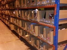 Replace Old & Damaged Cardboard Boxes in your warehouse with Monster Bins ... See our entire selection at: http://monsterbins.com/ #MonsterBins #StorageBins #PlasticBins #Retail #Storage #Warehouse #Inventory #Parts #Efficiency #Clutter #Organization #mro #industrial #cardboard