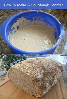 How To Make A Sourdough Starter...http://homestead-and-survival.com/how-to-make-a-sourdough-starter/
